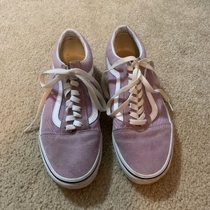 Pink Vans Low, Old Skool